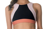 Drive Crop Black Blush - Only 1 x L left!