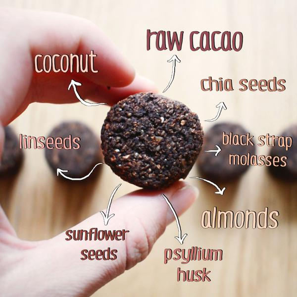 The Motivator Raw Cacao Tube