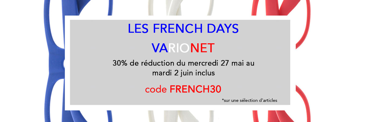 French Days -30%