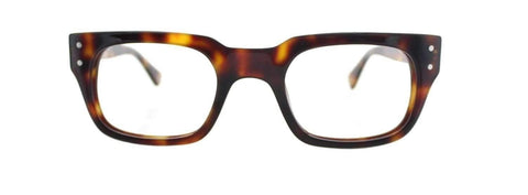 Lunettes John Lennon Jl07B Da Ecaille Marron photo de face