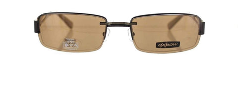 Lunettes Oxbow 352 Marron & Clip Polarisant photo de face