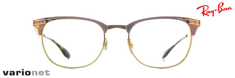 Lunettes Ray-Ban RB6346 Ecaille et Or