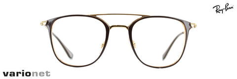 Lunettes Ray-Ban RB 6377 Brun et Or