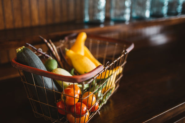 Healthy Lifestyle Vegetables In Basket