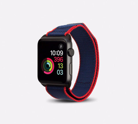 Nylon Active Vibe Band - Apple Watch Monowear Navy