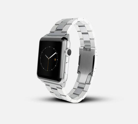 Metal band - Apple Watch Monowear Silver