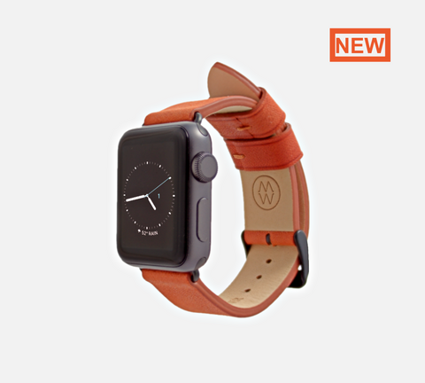 Classic Leather Band Burnt orange