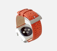 monowear apple watch perforated leather band