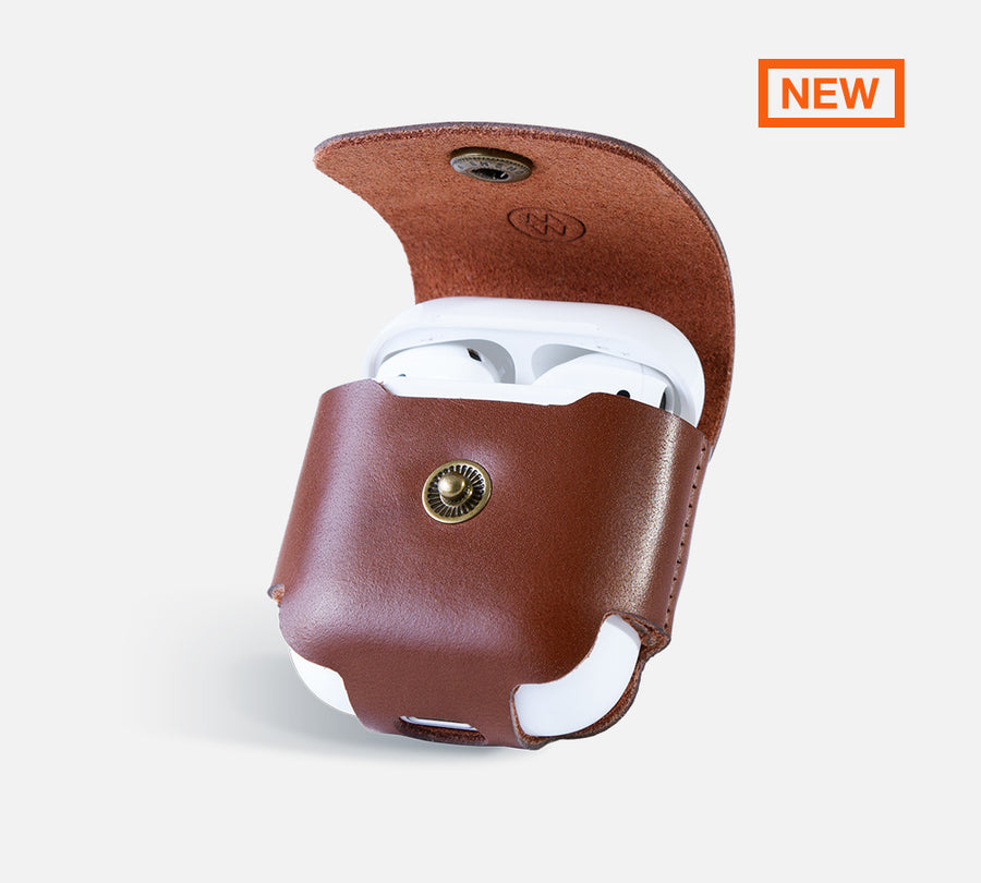 outlet store 318eb ebbab Leather AirPods Case