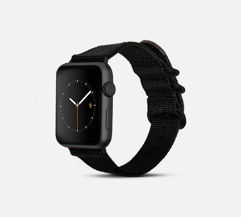 Nylon Band - Apple Watch Monowear Black