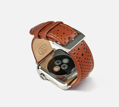 Perforated Leather Band