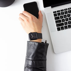 Contemporary Leather Cuff