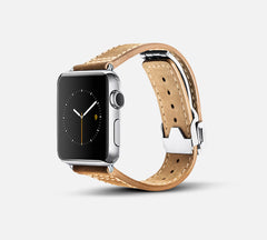 Leather Deployant Band - Apple Watch Monowear
