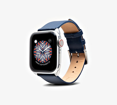Cocktail Leather Band - Apple Watch Monowear Silky Midnight
