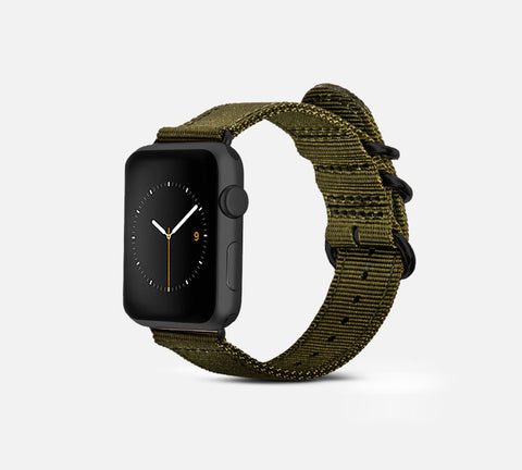 Nylon Band - Apple Watch Monowear Olive