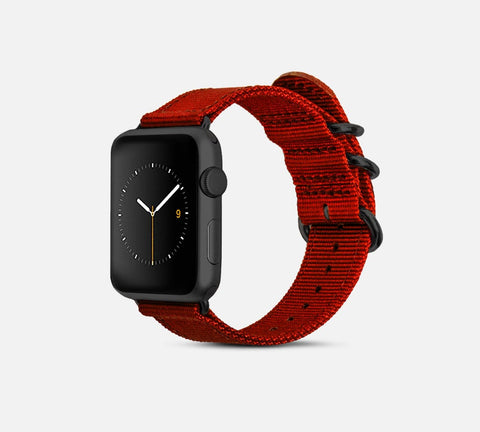 Nylon Band - Apple Watch Monowear Red