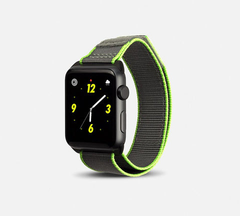 Nylon Active Vibe Band - Apple Watch Monowear Pebble