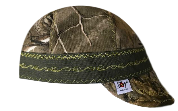 Camo & Canvas Prewashed Welders Caps 7 3/8- 7 3/4 Available