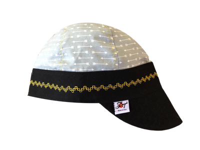 Grey/Yellow/Black Size 7 Hybrid Welders Cap