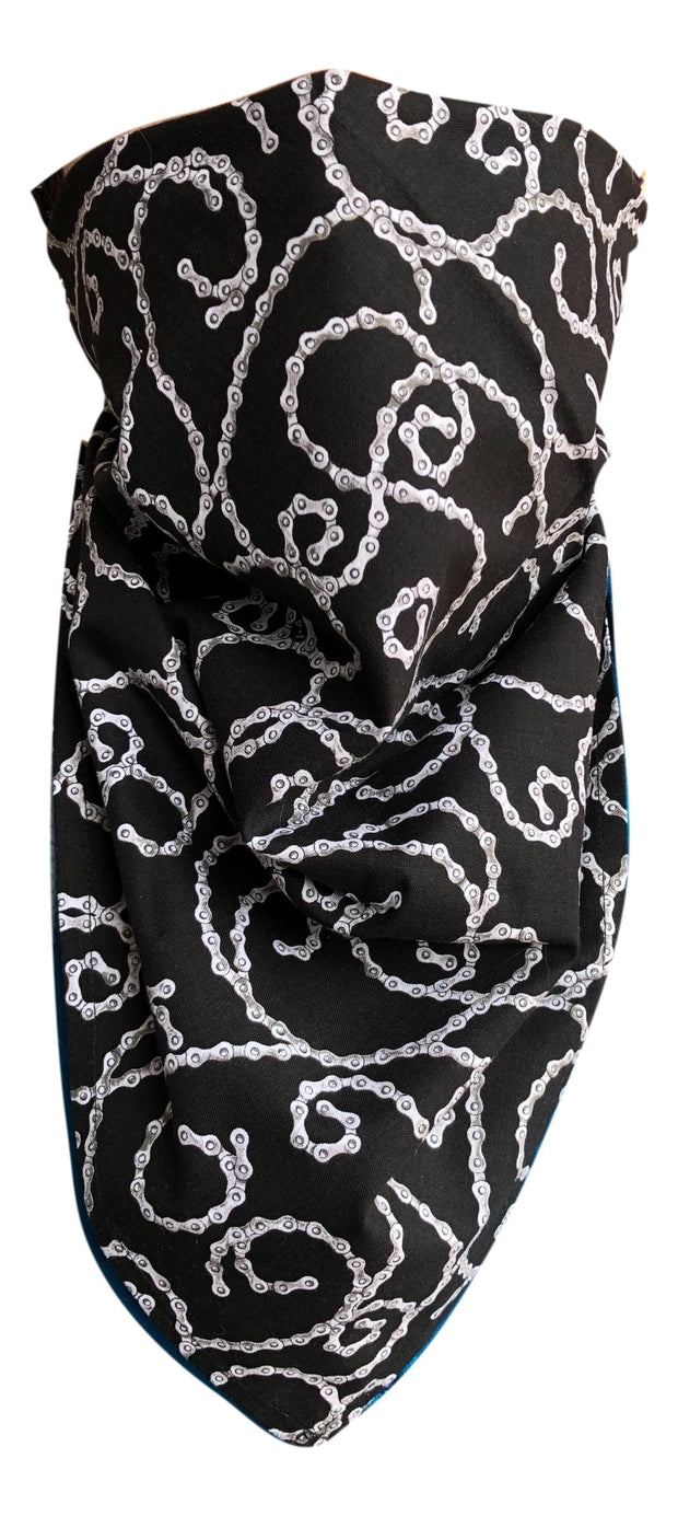 Black Chains 100% Cotton Bandanna