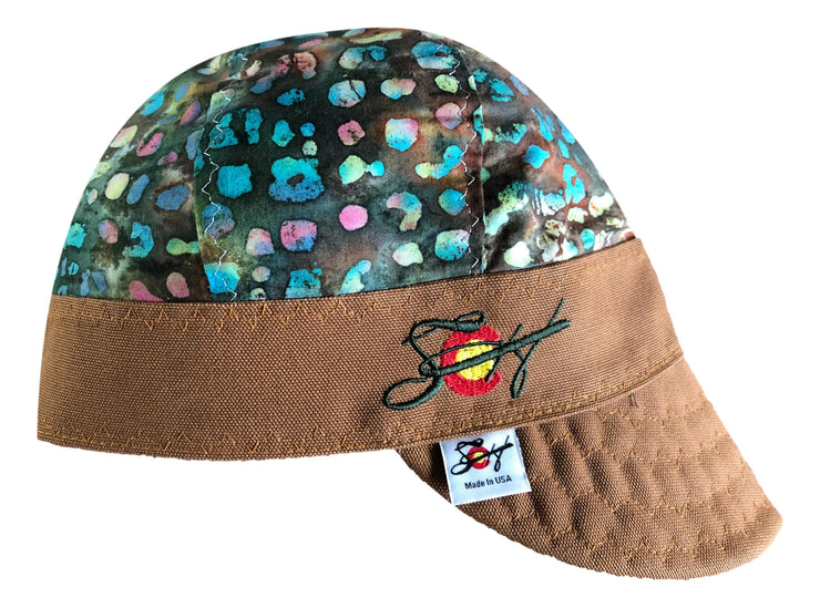 Puff the Magic Dragon Embroidered Hybrid Welders Cap