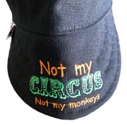 Not My Circus... Size 7 3/8 Embroidered Hybrid Welders Cap