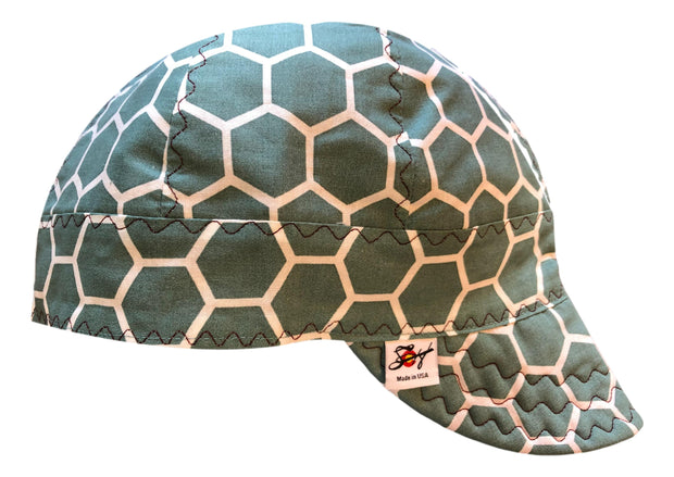 I Love this Color! Size 7 1/2 100% Cotton Lined Welding Cap