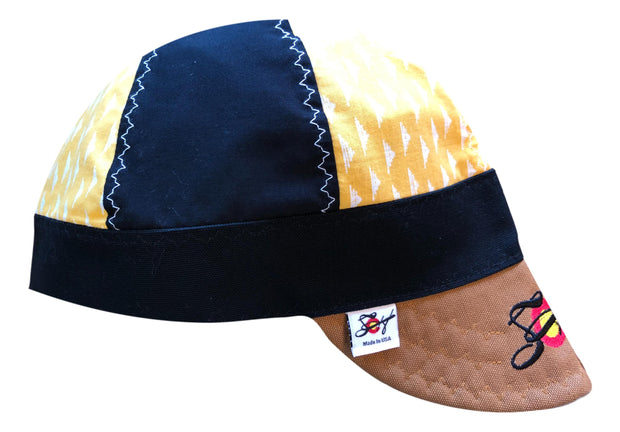 Black/Yellow Embroidered Logo Size 7 1/2 Hybrid Welding Cap