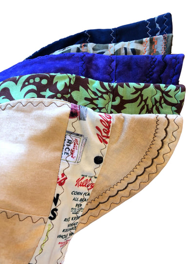 5 Pk Lined Size 7 1/2 100% Cotton Variety Pack