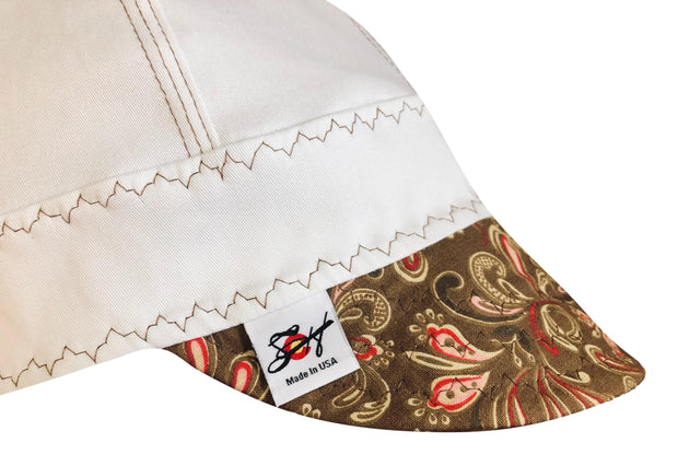 "The ""Mullet"" #SoComfort Welders Cap W/FR Bill Custom Embroidery Now Available!!"