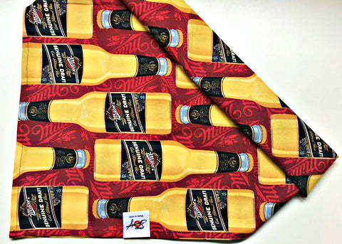 Miller Genuine Draft Beer 100% Cotton Bandanna