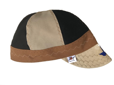 🇺🇸 Texas 🇺🇸 Embroidered Triple Play Leather Bill Canvas Size 7 1/2 Prewashed Welding Cap
