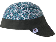 Floral Purple SoCo Embroidered Size 7 1/4 Hybrid Welding Cap