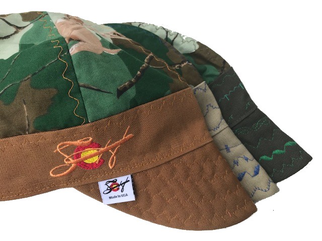 🦌Deer Camo🦌 Hybrid Welding Cap *Choose your Canvas Color*