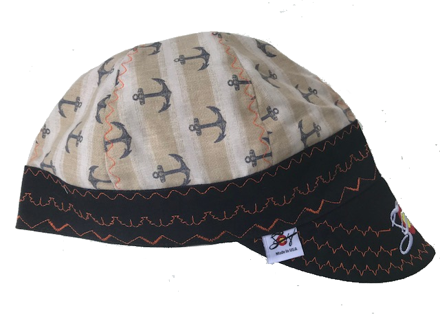 ⚓Anchoring Down⚓ Embroidered Bill Hybrid Welding Cap