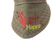 ⚡️ Spark Happy⚡️Embroidered Size 7 1/4 Hybrid Welding Cap Choose your Band Color