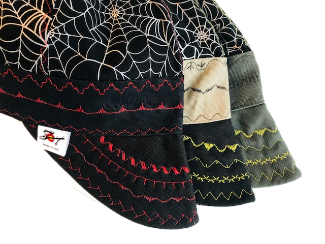 Metallic Web Print Size 7 5/8 Hybrid Welding Cap Choose your Band Color