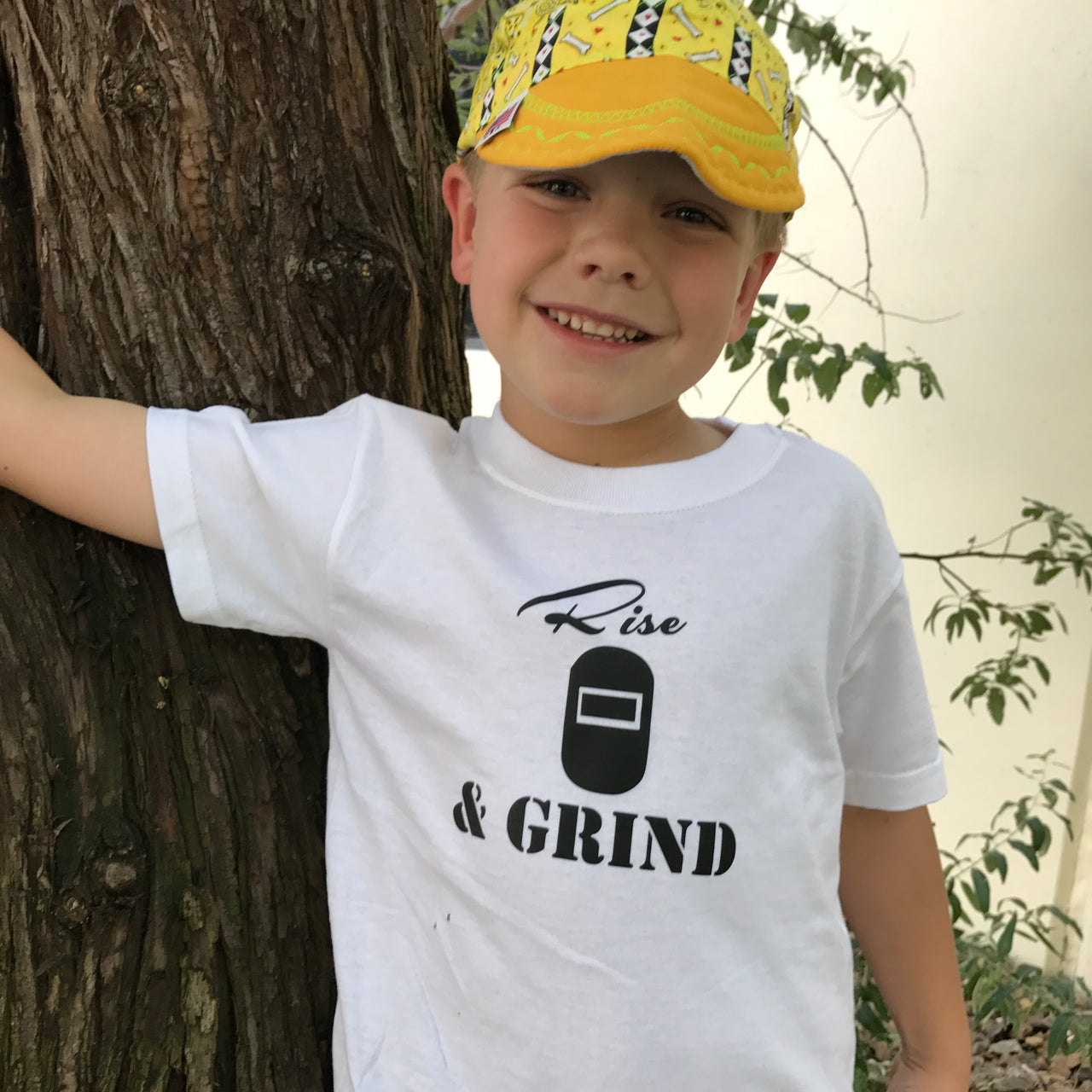 Rise & Grind Welder Infant/Children's T-Shirt