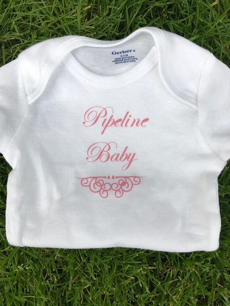 Pipeline Baby Welder Infant Onesie