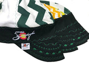 4 Pk. Hybrid Zig Zag Embroidered Welding Caps Size 7 5/8