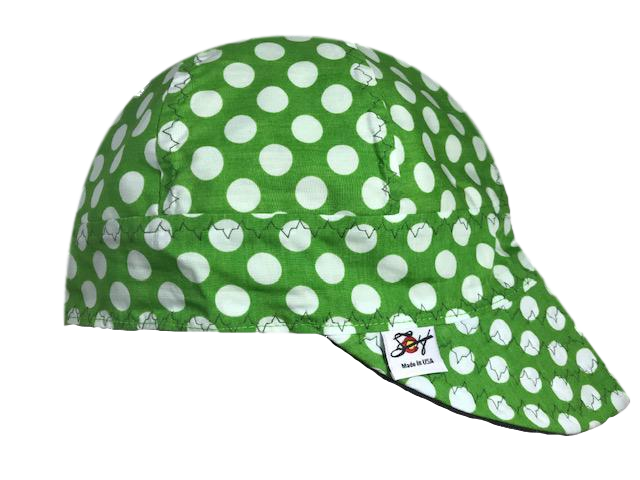 'Feeling Froggy' 🐸 100% Cotton Lined Welders Cap
