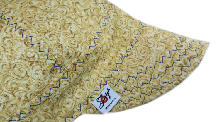 Two Tone Swirls Cotton Welding Cap