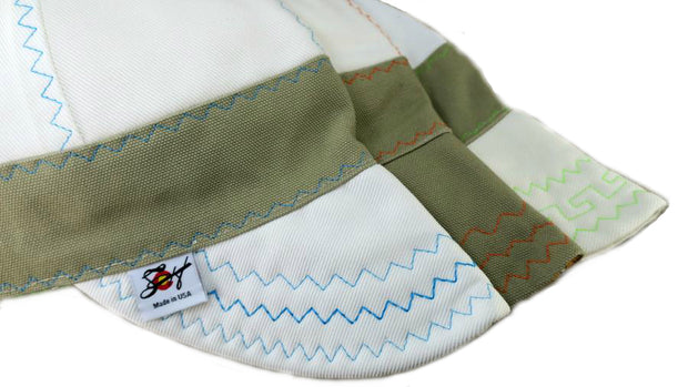Choose Your Stitching Color! Size 7 3/4 Prewashed Canvas Welding Cap