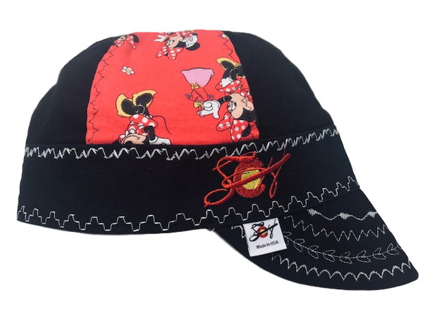 Minnie Mouse Limited Edition Mixed Panel Embroidered Hybrid Welding Cap