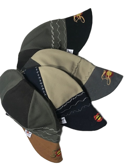 What the Flux?? Mixed Panel Embroidered Canvas Welding Cap
