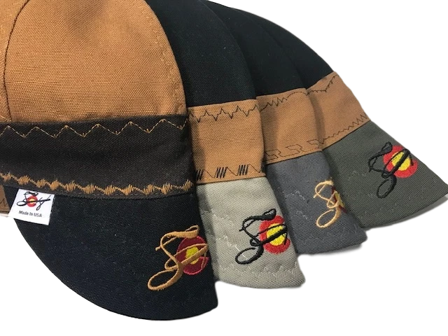 Lined Triple Play Embroidered Prewashed Canvas Welding Cap Choose your color!