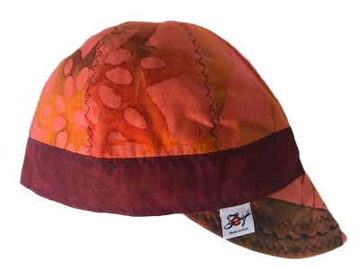 Unique Batik Print Welding Cap