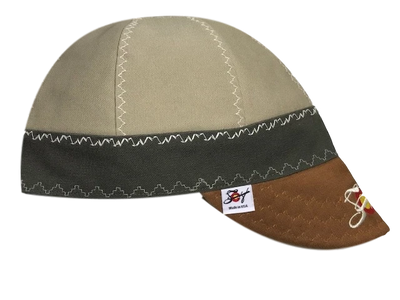 Tri-Color Embroidered Size 7 Canvas Welders Cap