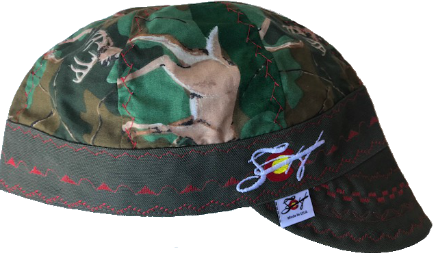 Deer Camo🦌Unique Hybrid Welding Cap