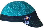 ▿Teal Triangles▿ Unique Hybrid Welding Cap
